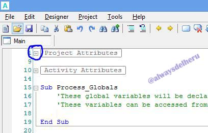 02.project attributes