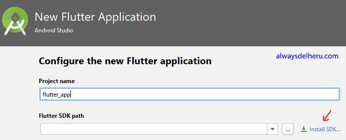 Memulai Membuat Aplikasi Android Dengan Flutter Always Del Heru
